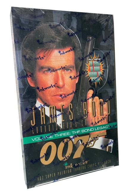 1997 Inkworks James Bond Volume 3: The Bond Legacy Trading Card Box