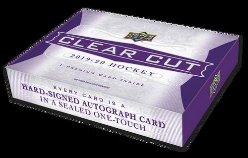 2019-20 Upper Deck Clear Cut Hockey Hobby Box