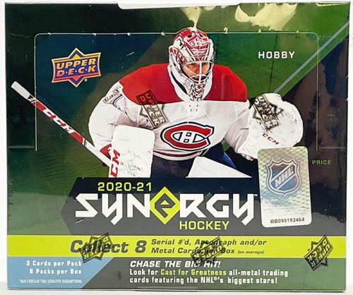 2020-21 Upper Deck Synergy Hockey Hobby Box