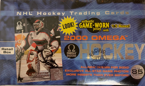 1999-00 Pacific Omega (Retail) Hockey