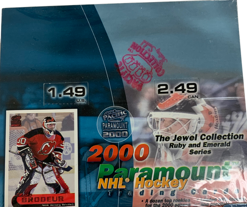 1999-00 Pacific Paramount Jewel Collection (Retail) Hockey
