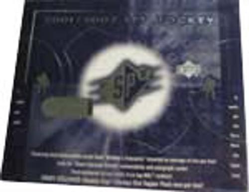 2001-02 Upper Deck SPX Hockey