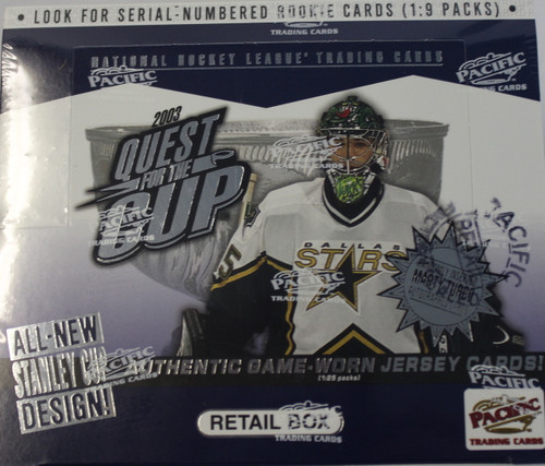2002-03 Pacific Quest for the Cup (Retail) Hockey