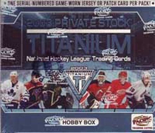 2002-03 Pacific Titanium Private Stock (Hobby) Hockey