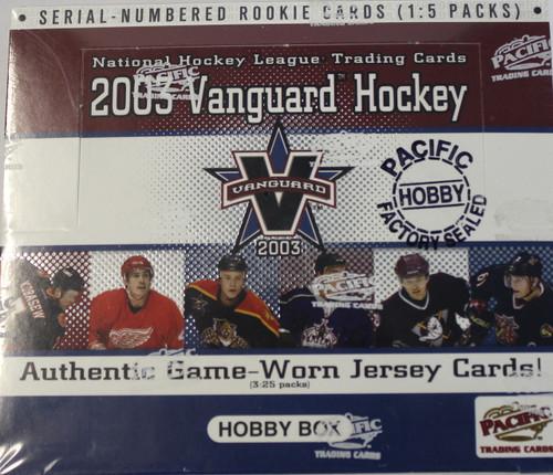 2002-03 Pacific Vanguard (Hobby) Hockey
