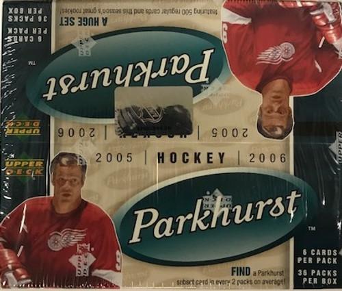 2005-06 Parkhurst (Retail) Hockey