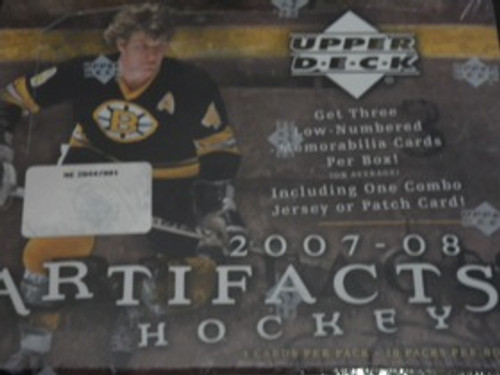 2007-08 Upper Deck Artifacts Hockey Hobby Box