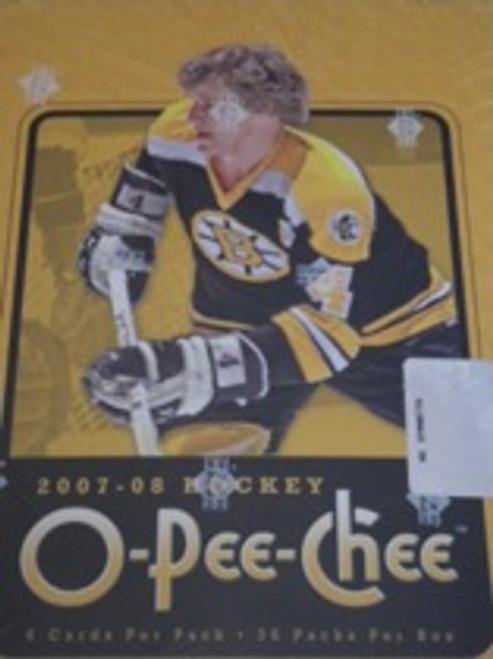 2007-08 Upper Deck O Pee Chee (Hobby) Hockey