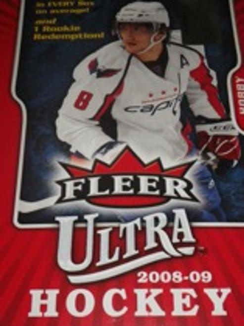 2008-09 Fleer Ultra Hockey Hobby Box