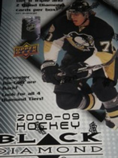2008-09 Upper Deck Black Diamond Hockey Hobby Box