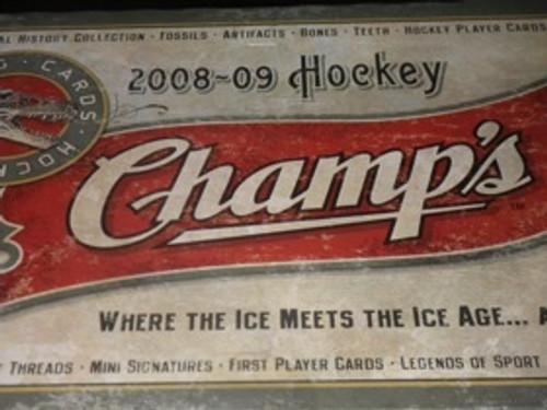 2008-09 Upper Deck Champs Hockey Hobby Box