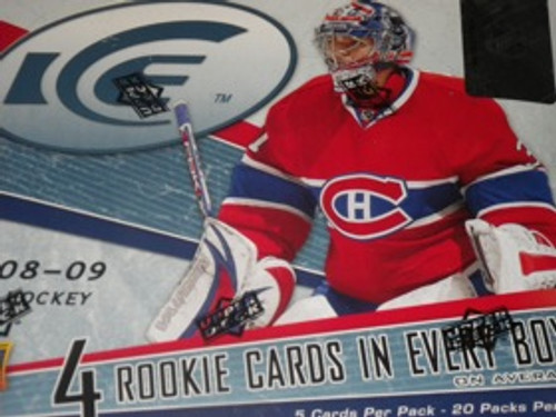 2008-09 Upper Deck Ice Hockey Hobby Box