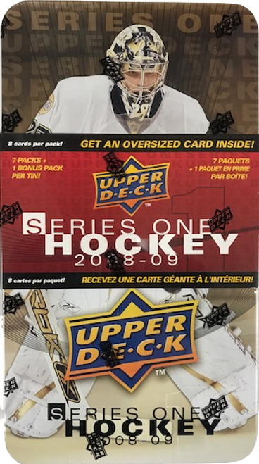 2008-09 Upper Deck Series 1 Hockey Tin Box
