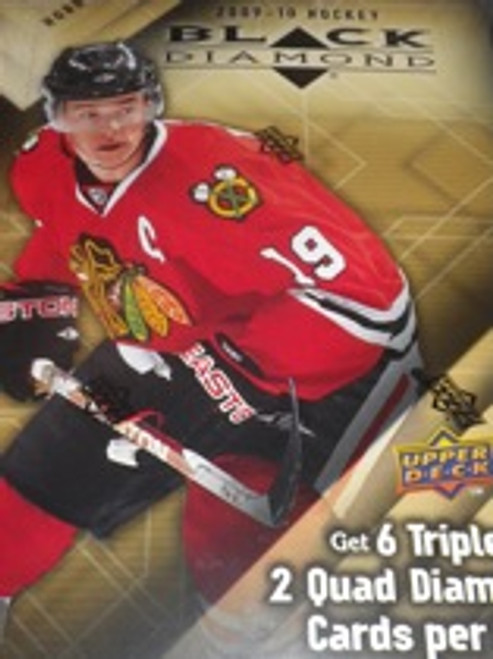 2009-10 Upper Deck Black Diamond Hockey Hobby Box