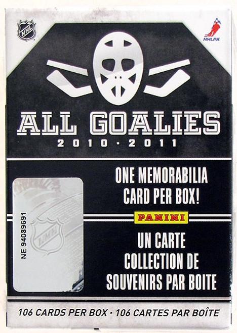 2010-11 Panini All Goalie Set Hockey