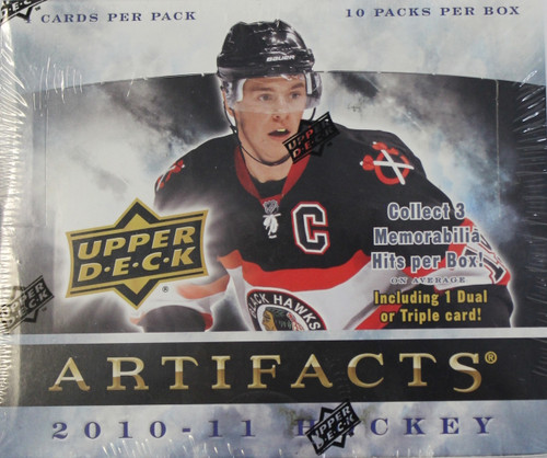 2010-11 Upper Deck Artifacts Hockey Hobby Box