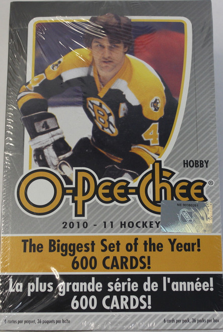 2010-11 Upper Deck O Pee Chee (Hobby) Hockey