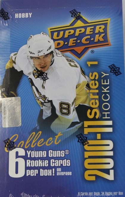 2010-11 Upper Deck Series 1 Hockey Hobby Box