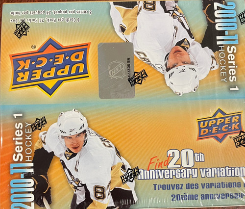 2010-11 Upper Deck Series 1 Hockey Retail Box