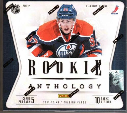 2011-12 Panini Rookie Anthology Hockey Hobby Box