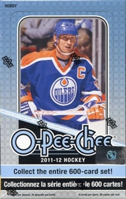 2011-12 Upper Deck O Pee Chee (Hobby) Hockey