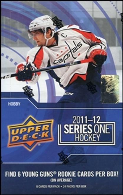 2011-12 Upper Deck Series 1 Hockey Hobby Box