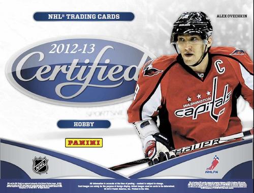 2012-13 Panini Certified (Hobby) Hockey