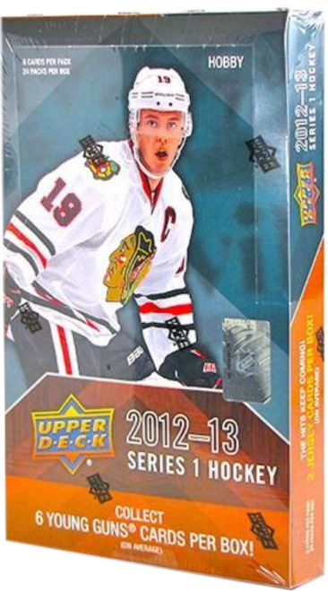2012-13 Upper Deck Series 1 Hockey Hobby Box