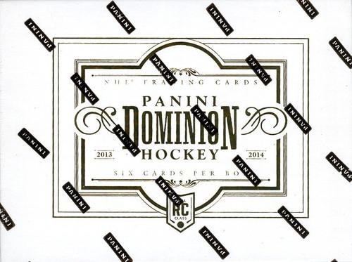 2013-14 Panini Dominion Hockey