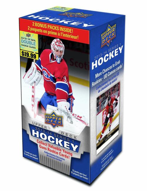 2013-14 Upper Deck Series 1 Hockey Blaster Box