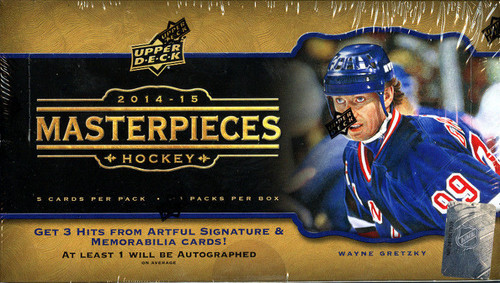 2014-15 Upper Deck Masterpiece Hockey Hobby Box