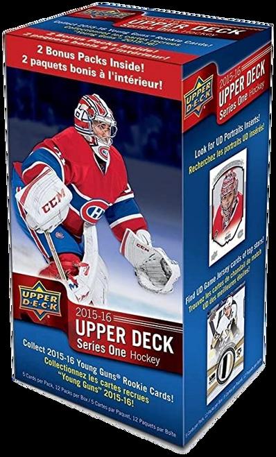 2015-16 Upper Deck Series 1 Hockey Blaster Box
