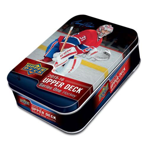 2015-16 Upper Deck Series 1 Hockey Tin Box