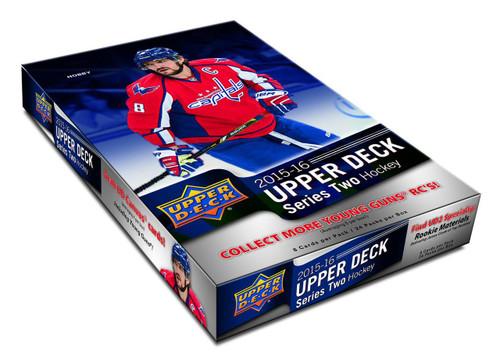 2015-16 Upper Deck Series 2 Hockey Hobby Box