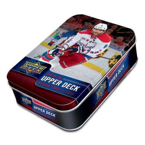 2015-16 Upper Deck Series 2 Hockey Tin Box