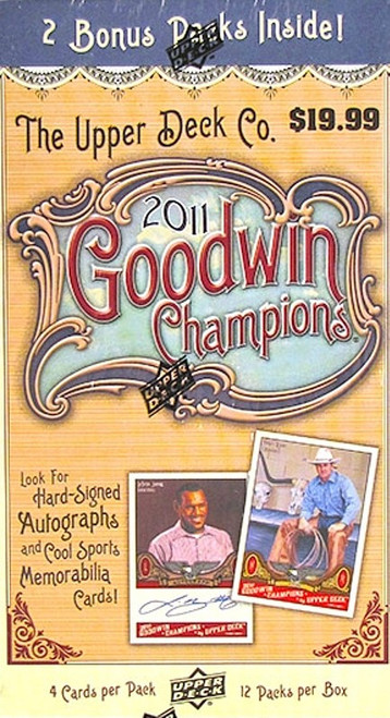 2011 Goodwin Champions (Blaster) Baseball