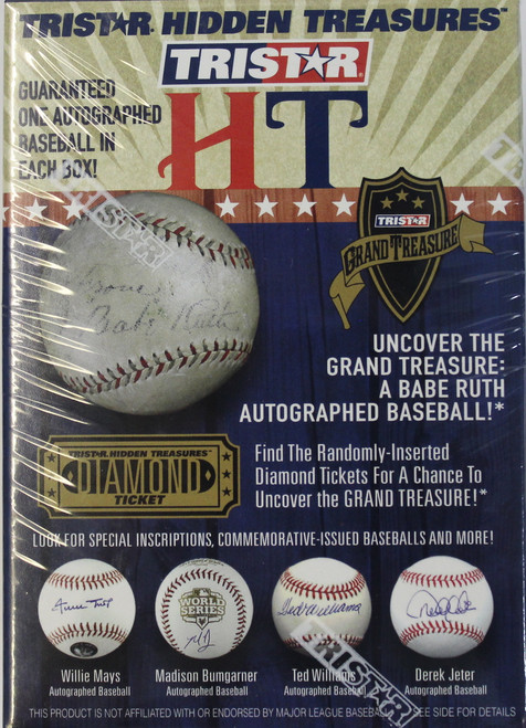 2015 Tristar Hidden Treasures Series 7 Autographed Baseballs
