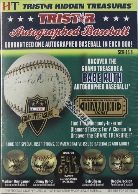 2016 Tristar Hidden Treasures Series 8 Autographed Baseballs