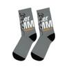 """Summer NAMM 2021Raccoon"" Polyester/Nylon Socks"