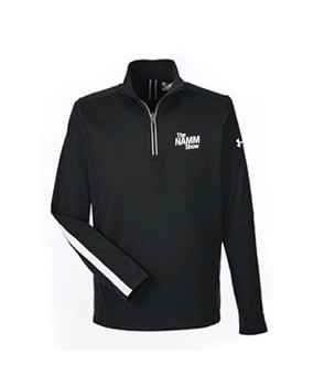 Mens UA Qualifier 1/4 Zip Lined Pullover