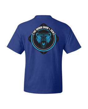 "Royal Blue ""NS 2020 Loud Bear Speaker"" Tee"