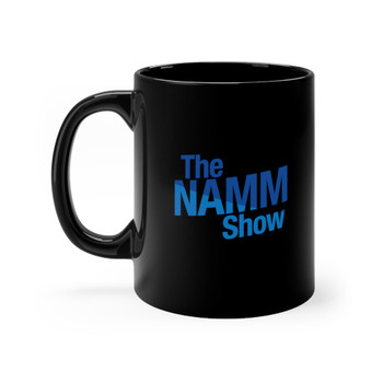 "Black 11 oz. ""The NAMM Show"" Ceramic Mug"