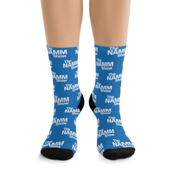 """The NAMM Show"" Polyester/Nylon Stretch Socks"