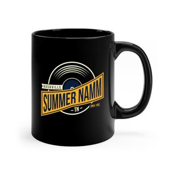 "Black 11oz. ""Summer NAMM Vinyl"" Ceramic Mug"