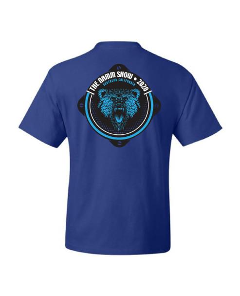"Royal Blue ""NS20 Loud Bear Speaker"" Tee"
