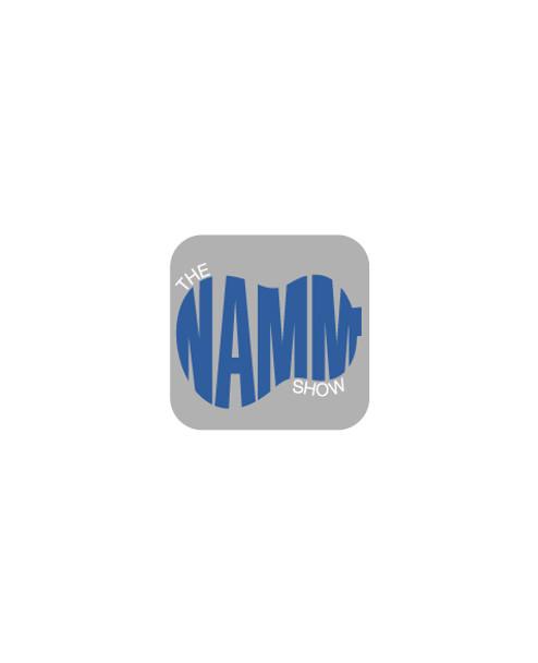 """The NAMM Show Guitar"" Lapel Pin"