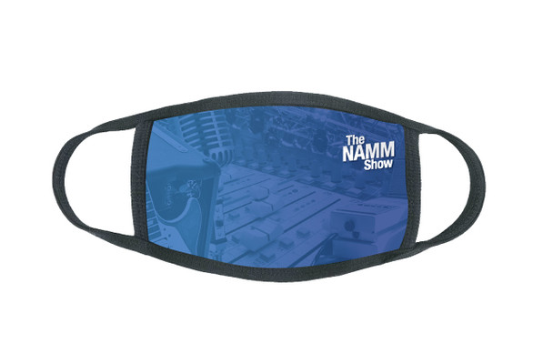 """Adult """"The NAMM Show"""" Face Mask"""