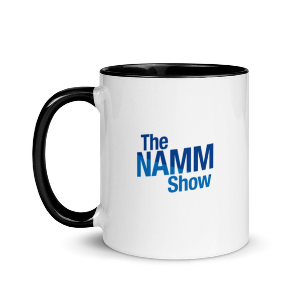 """The NAMM Show"" 11oz. Mug with Black Trim"