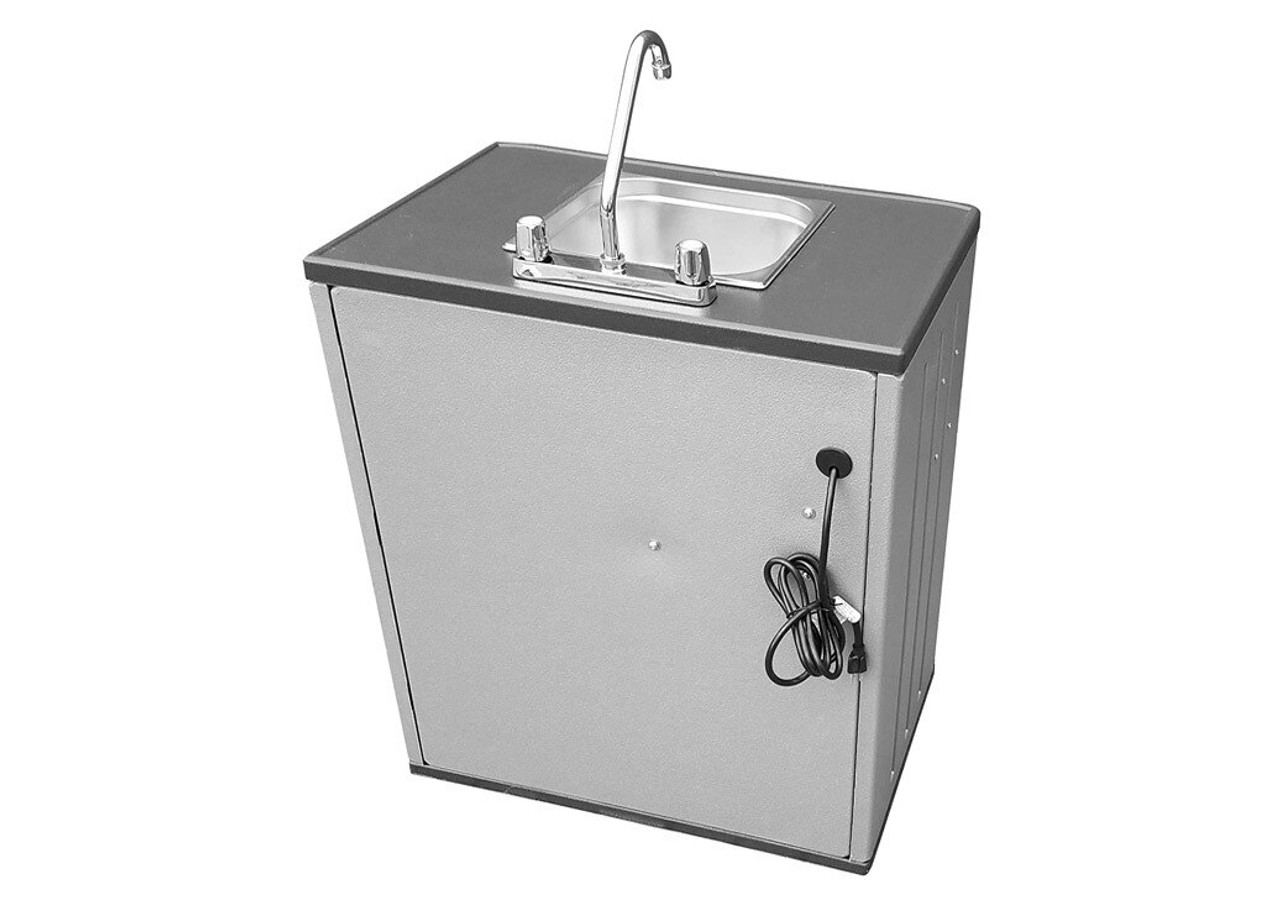 Portable Sink Mobile Hand Wash Station with Hot Water Handwashing 35-0092
