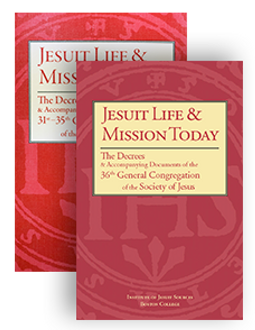 Jesuit Life & Mission Today: The Decrees and Accompanying Documents of the 31st–36th General Congregations of the Society of Jesus - 2 Book  Bundle